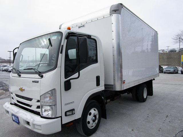 New 2018 Chevrolet Low Cab Forward 3500 LCF Gas 132.5 WB Reg